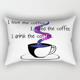 Starlight caffee Rectangular Pillow