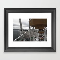 Up High Framed Art Print