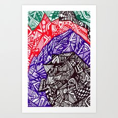 Shell out Art Print