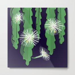 Night-blooming Cereus Graphic Metal Print