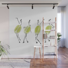 Edible Ensembles: Limes Wall Mural
