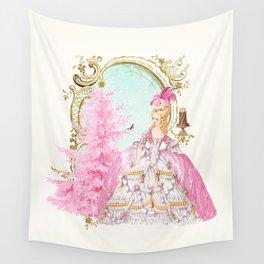 Marie Antoinette Christmas Wall Tapestry