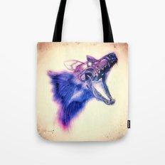 Frankenstein Wolf Tote Bag