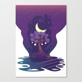 Stellar Chronos Canvas Print