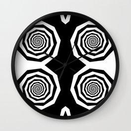 Owl Eye Wall Clock