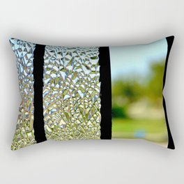 Glass Panes Rectangular Pillow