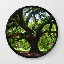 Live Oak Tree Wall Clock