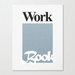 Workbook Canvas Print
