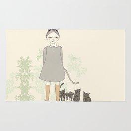 Cat Girl Rug
