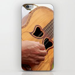 Typical Azores guitar iPhone Skin