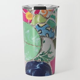 Tiling with pattern 6 Travel Mug