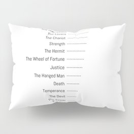 Tarot Major Arcana - The Fool's Morning Coffee Pillow Sham