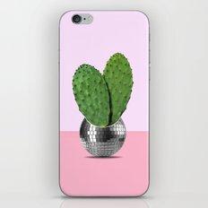 Cactus disco party iPhone & iPod Skin