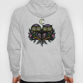 A Perfect Pair Of Midnight Moonlit Owls Hoody