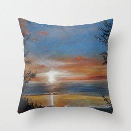 Summer Stunner Throw Pillow