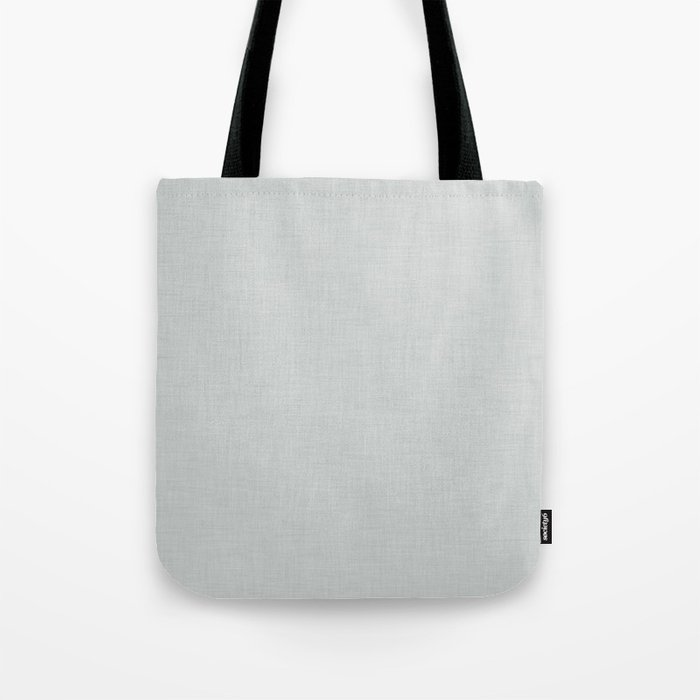 Plain Grey Fabric Texture Tote Bag By