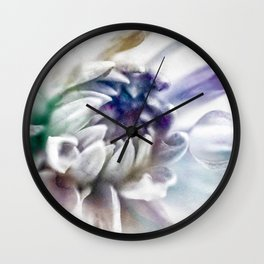 watercolor flower 2 Wall Clock