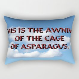 Cage of Asparagus Rectangular Pillow