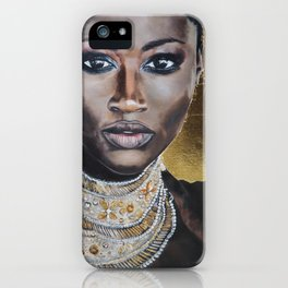 Graceful Ebony iPhone Case