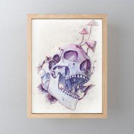 Always was a fungi Framed Mini Art Print