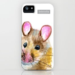 Inky Mouse iPhone Case
