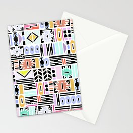 Ndebele Pastel Edition  Stationery Cards