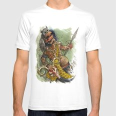 Ah Puch Mens Fitted Tee White MEDIUM