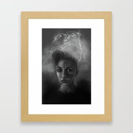 Turmoil Framed Art Print