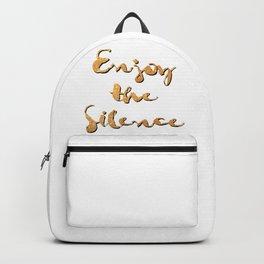 Enjoy the Silence Backpack
