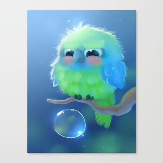 Mini Parrot Canvas Print
