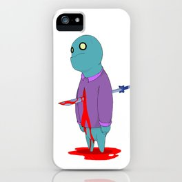 Insensitive Die iPhone Case