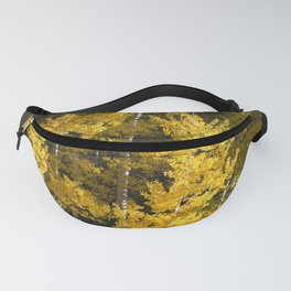 Golden Aspens Fanny Pack