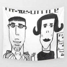 "Jonatan's ""At the Office"" Wall Tapestry"
