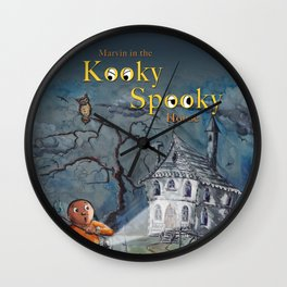 Marvin in the Kooky Spooky House Wall Clock
