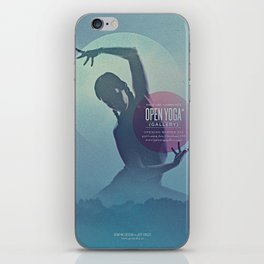 Open Yoga Gallery iPhone Skin