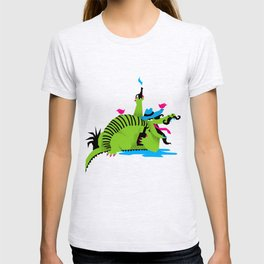 Cowboy Crocodile T-shirt