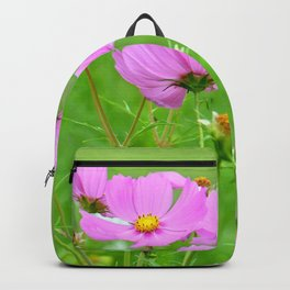Summer meadow cosmea 033 Backpack