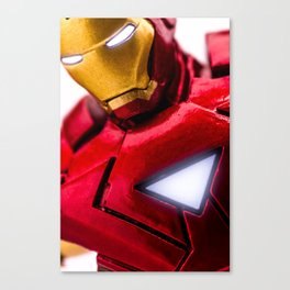 Iron Man Mark VI Armour Canvas Print