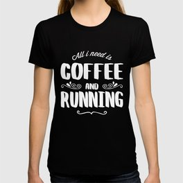 Running & Coffee T-shirt