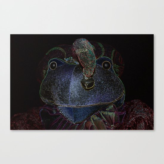 Sir Frog Canvas Print