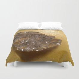 Quartz crystal from New York Duvet Cover