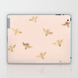 Busy Bees (Pink) Laptop & iPad Skin