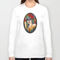 day of the dead Long Sleeve T-shirts featuring Day of the Dead by Little Lost Forest