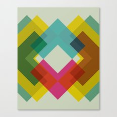 Cacho Shapes XXXVI Canvas Print