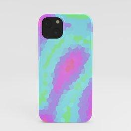 Pretty Pastel Wiggly Geometric Design! iPhone Case