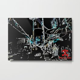 Local Distance Metal Print