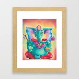 Ganesha AKA Ganesh  Framed Art Print