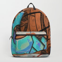 Basketball Graffiti Team Sports Design Backpack