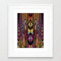 gremlins Framed Art Prints featuring Gremlins by Klara Acel