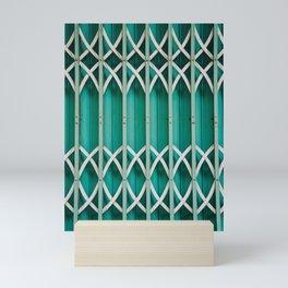 Emerald Green Gate . Sapa, Vietnam Mini Art Print